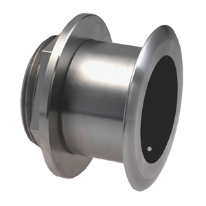 Stainless Steel Thru-hull Mount Transducer with Depth & Temperature (12° tilt) - Airmar SS164