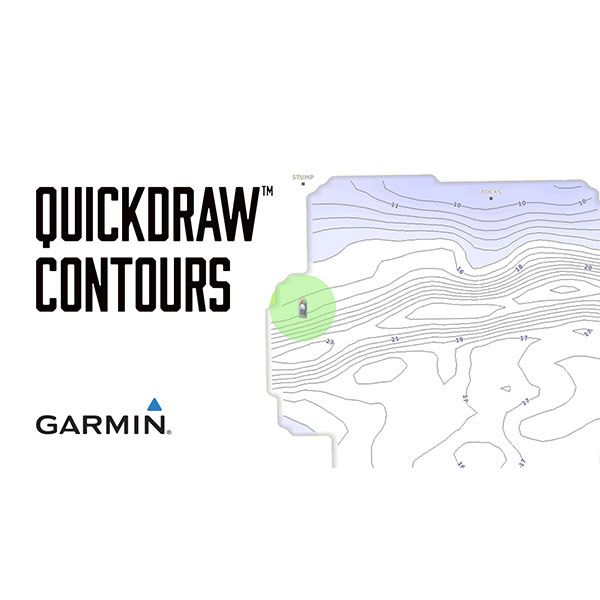Garmin Quickdraw™ Contours